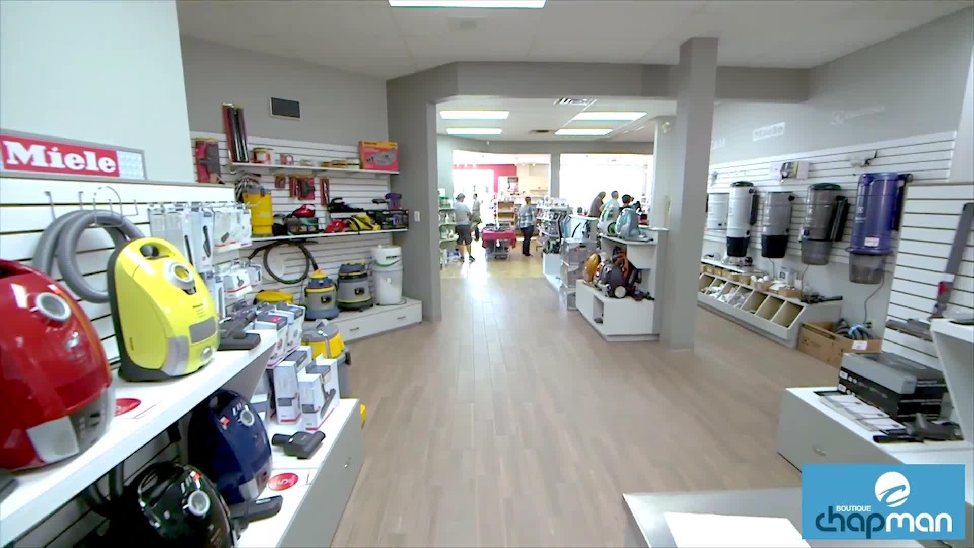 Boutique Chapman - Service et vente d'aspirateurs domestiques - 819-243-4554