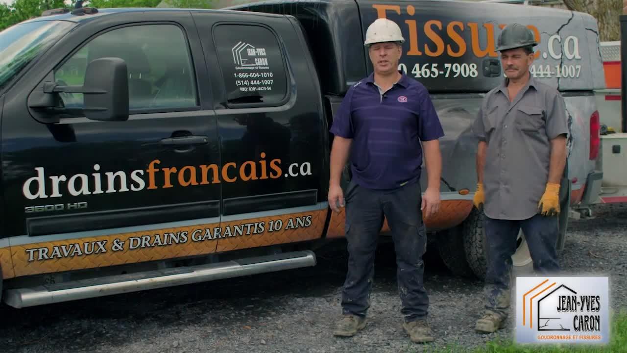 Drains Français.ca - Entrepreneurs en drainage - 514-444-1007