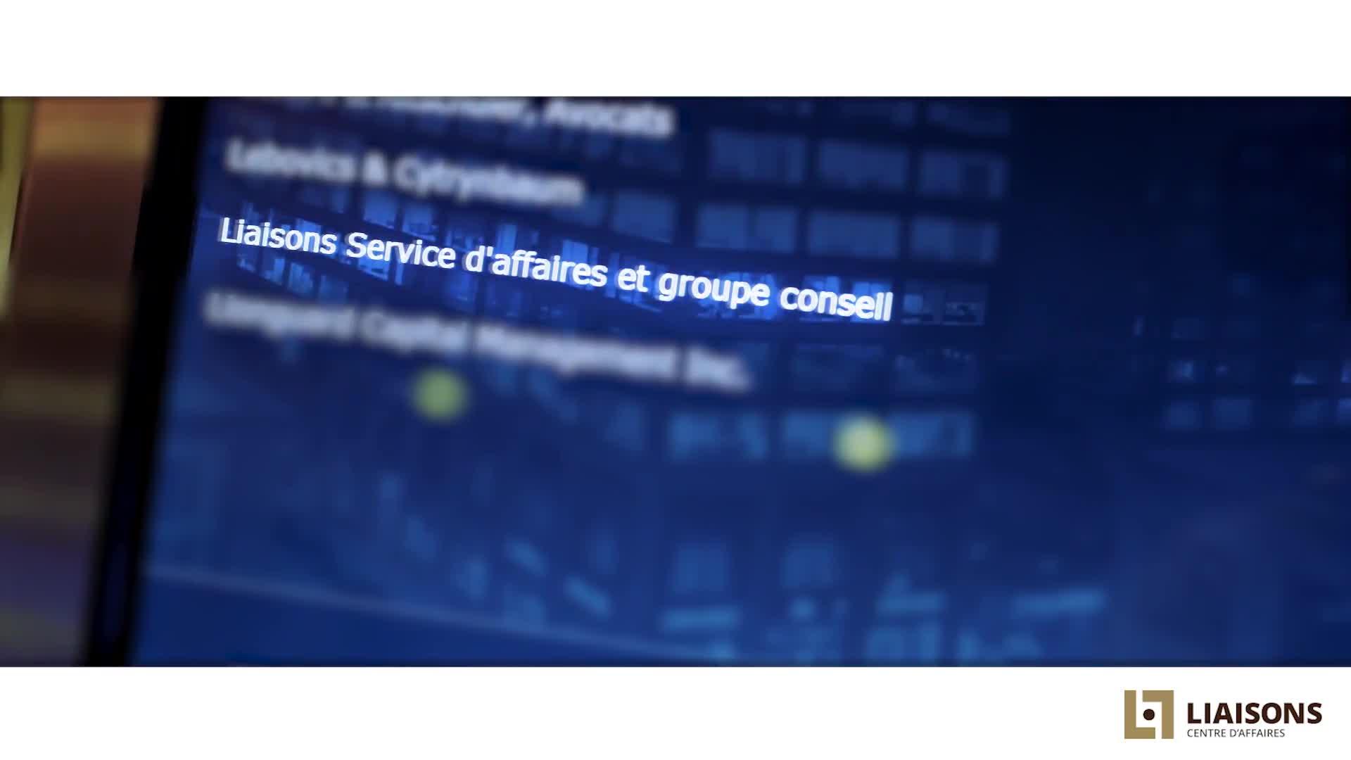 Centre d'Affaires Liaisons - Centres d'affaires - 514-286-7544