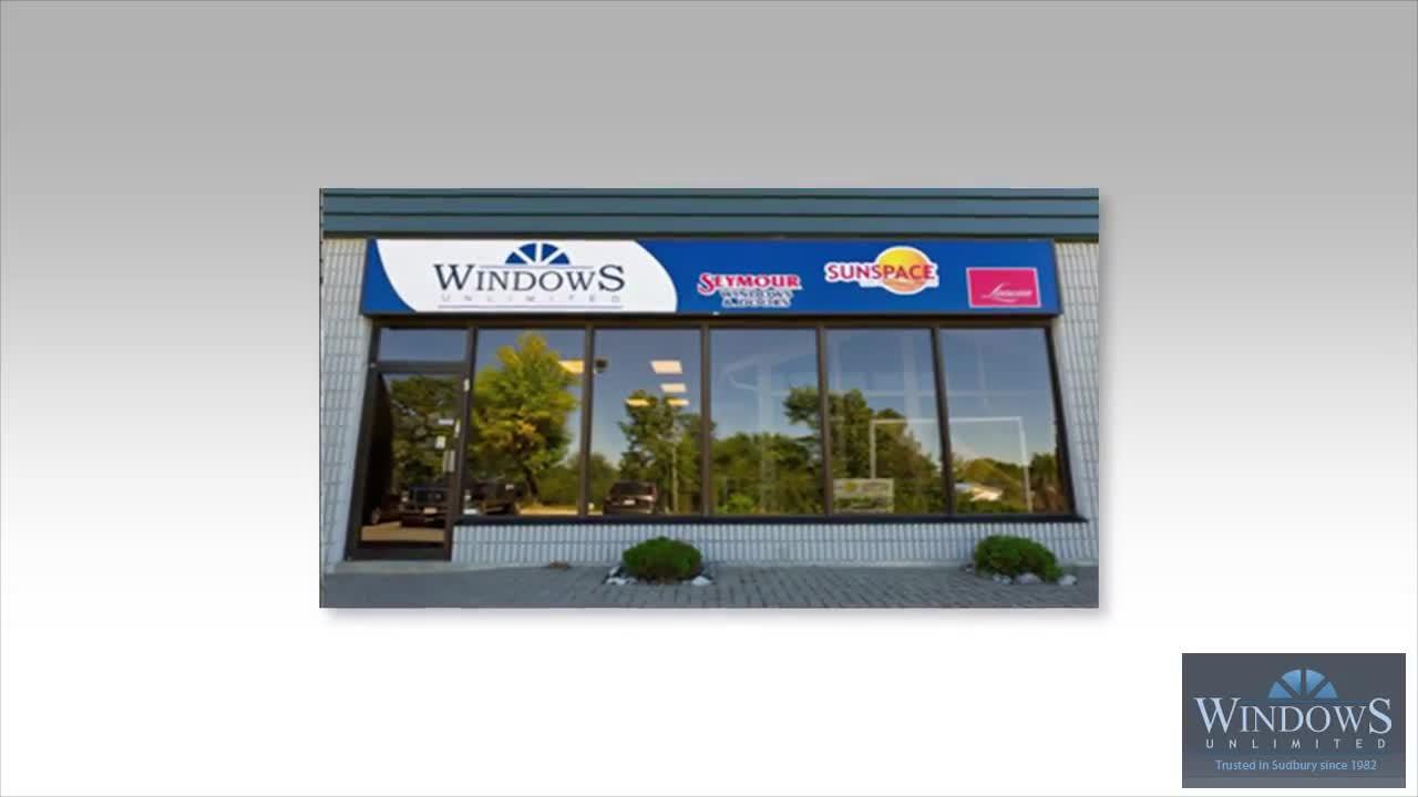 Windows Unlimited Sudbury On 11 598 Falconbridge Rd