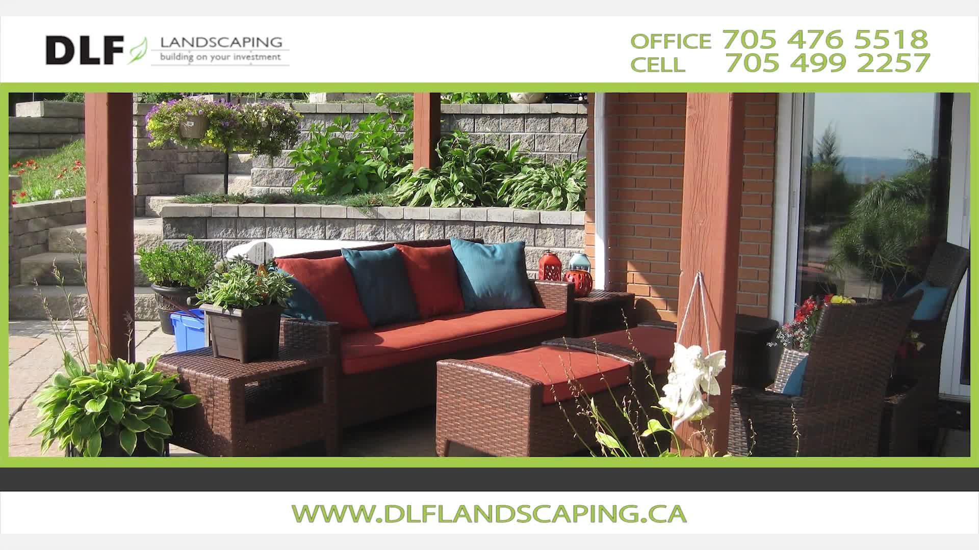 DLF Landscaping - Landscape Contractors & Designers - 705-476-5518