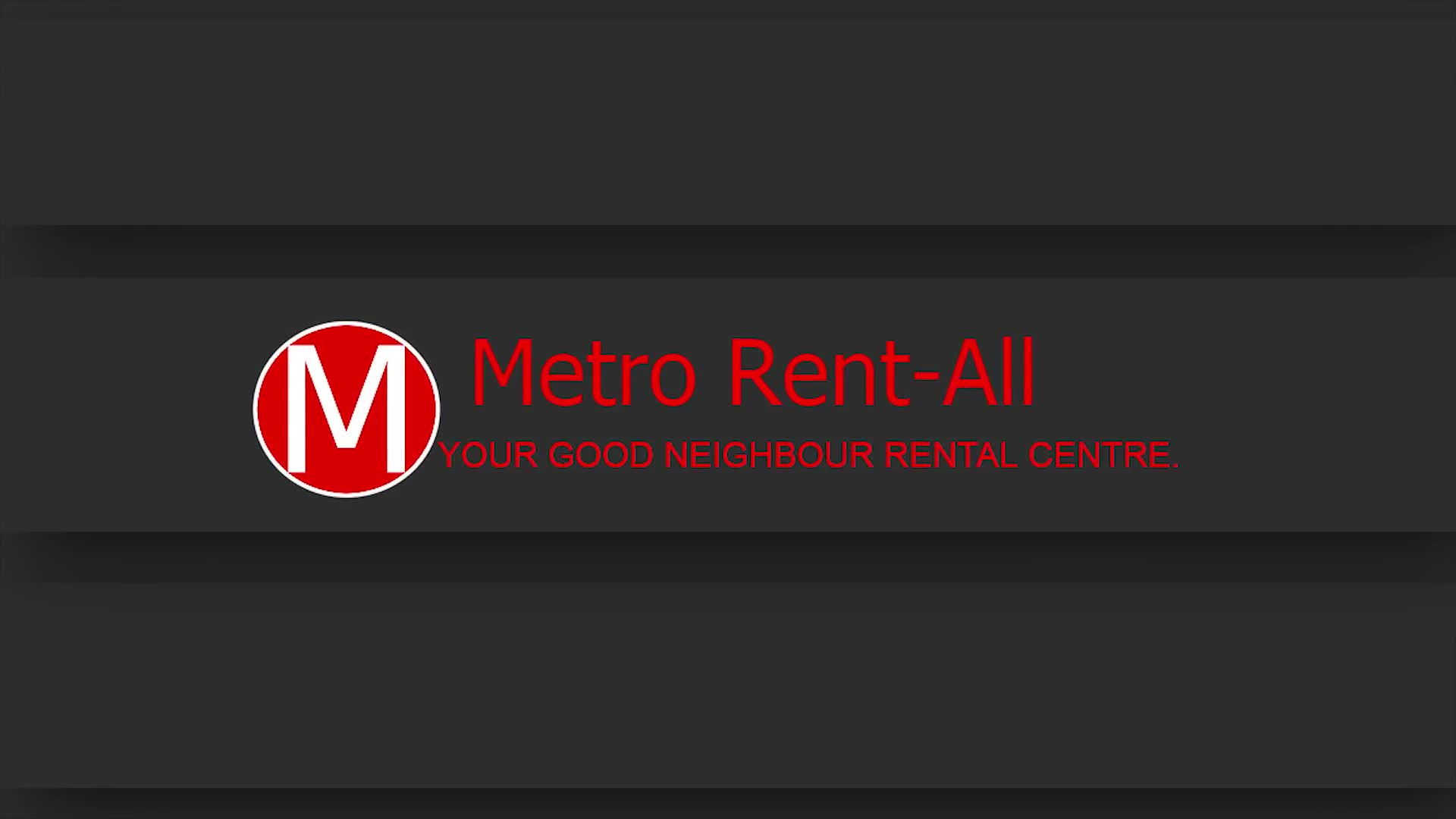 Metro Rent-All Limited - General Rental Service - 416-291-2521