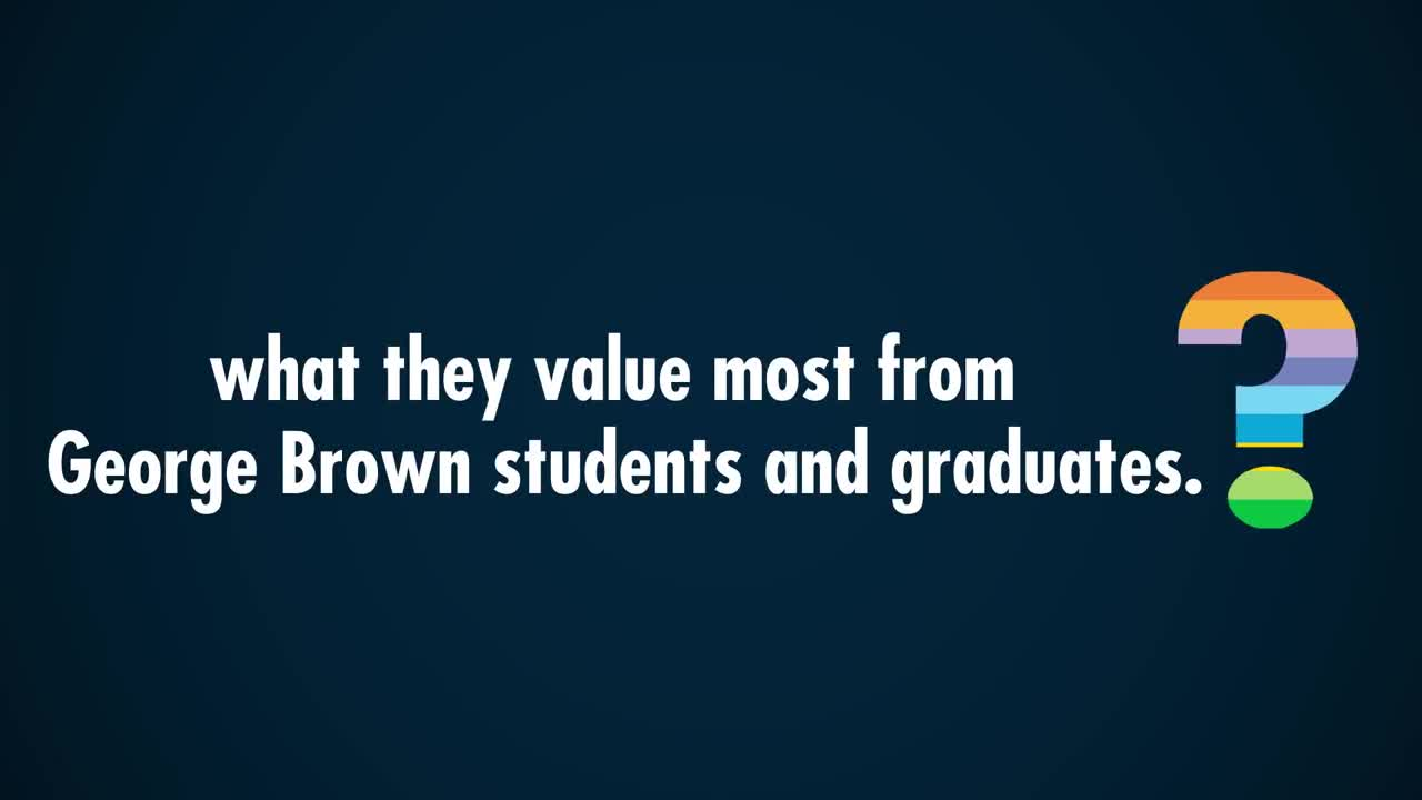 video George Brown Toronto City College Redirection Through Education