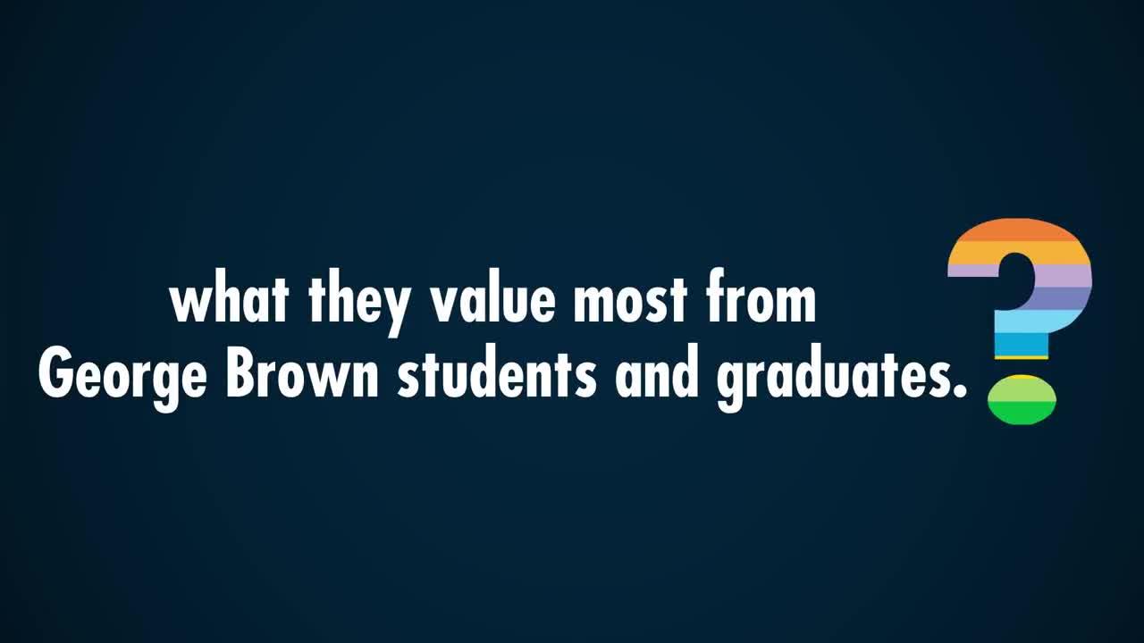 video George Brown College