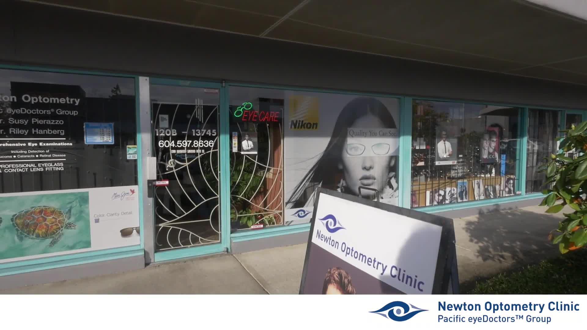 View Newton Optometry Clinic's Surrey profile