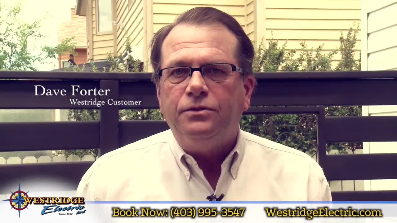 Westridge Electric Testimonial