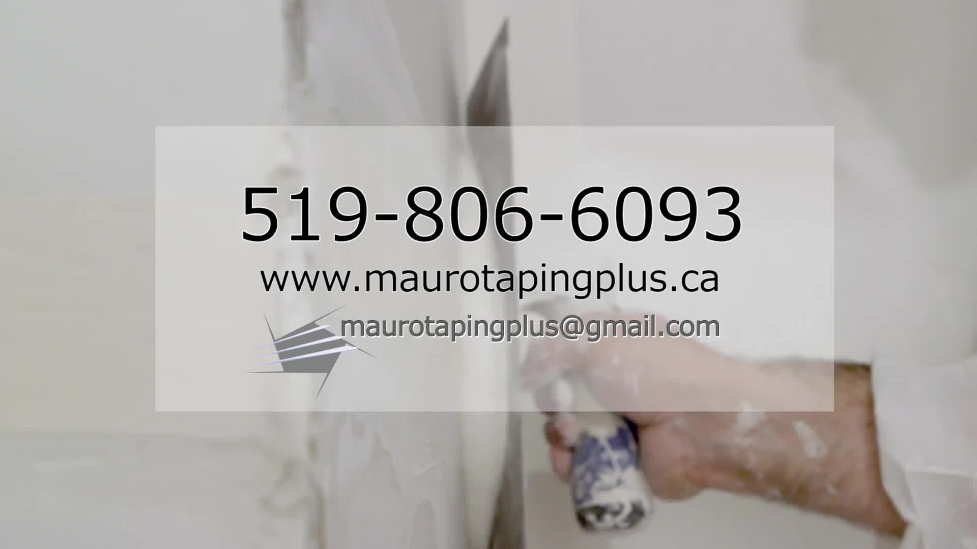 Mauro Taping Plus - Drywall Contractors & Drywalling - 519-806-6093