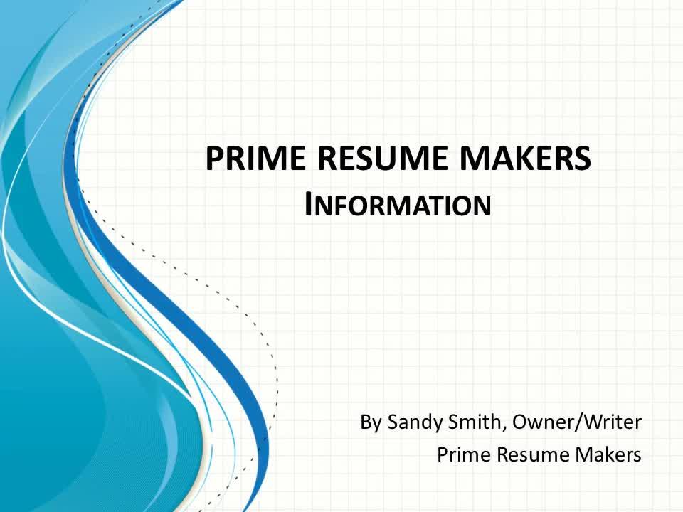 Prime Resume Makers - Resume Service - 905-434-5752