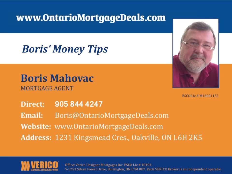 video Ontario Mortgage Deals