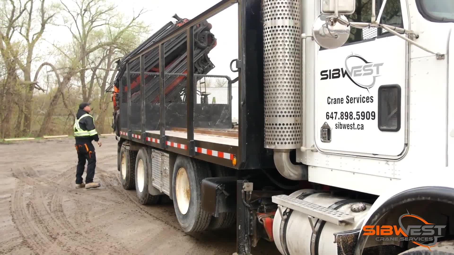 Sibwest Crane Services - Crane Rental & Service - 6478985909