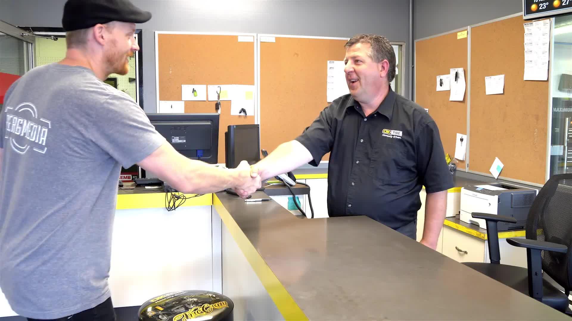 OK Tire - Auto Repair Garages - 250-562-3131