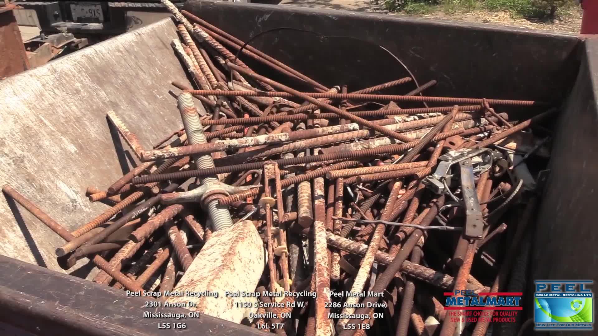 Peel Scrap Metal Recycling Ltd - Scrap Metals - 905-612-1288