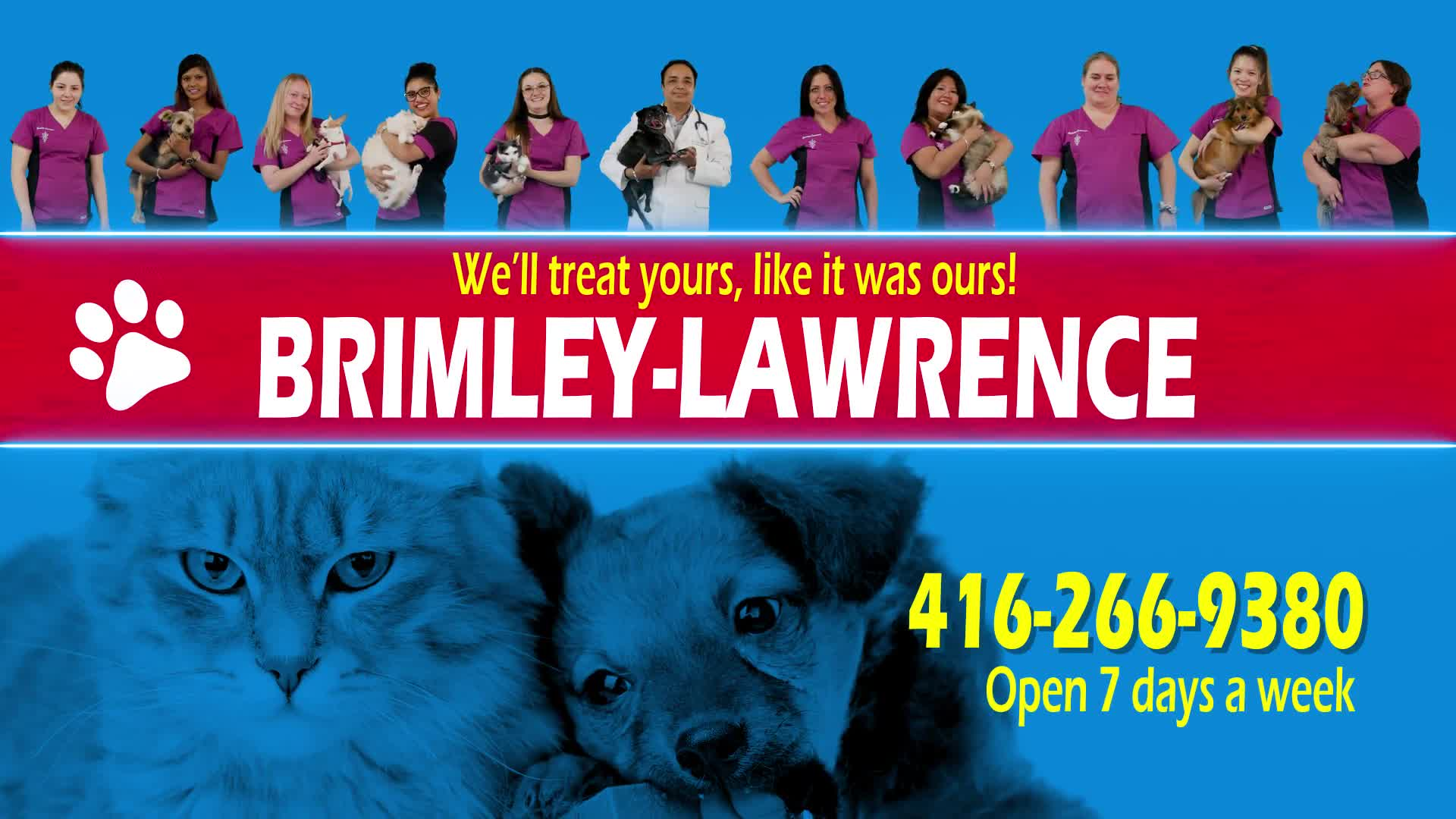 View Brimley-Lawrence Animal Clinic's Toronto profile