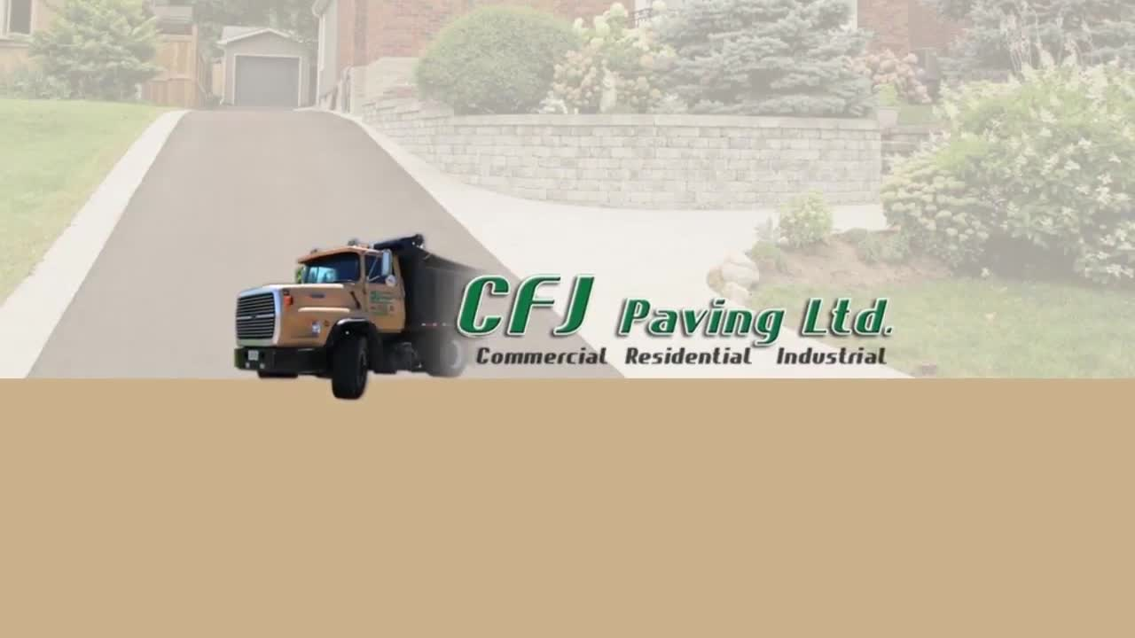 video CFJ Paving Ltd