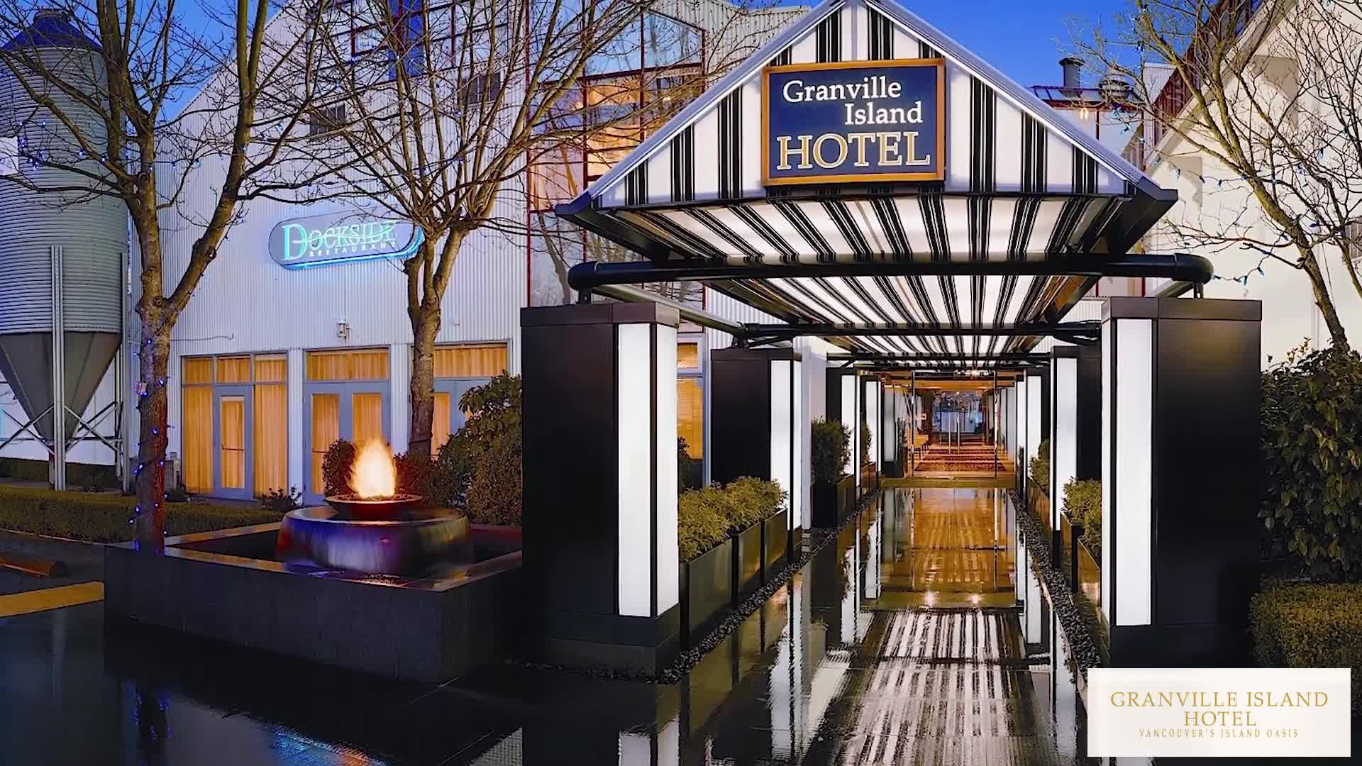 video Granville Island Hotel