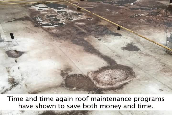 The most important key to a long roof life is to have a Maintenance Program. Maintenance Programs have shown, time and time again, to add up to five years to the average roof's life and generate significant savings. To find out more about the benefits of a Maintenance Program, watch this video.