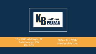 Voir le profil de KB Prefab - Bramalea