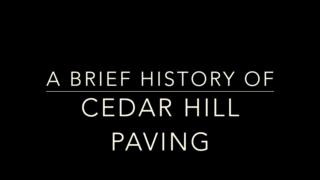 video Cedar Hill Paving Ltd