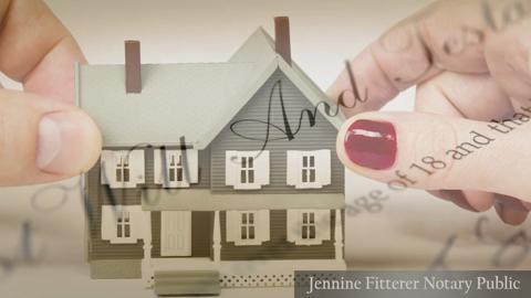 video Jennine Fitterer Notary Public