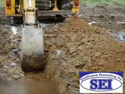 video Strathcona Excavating Inc