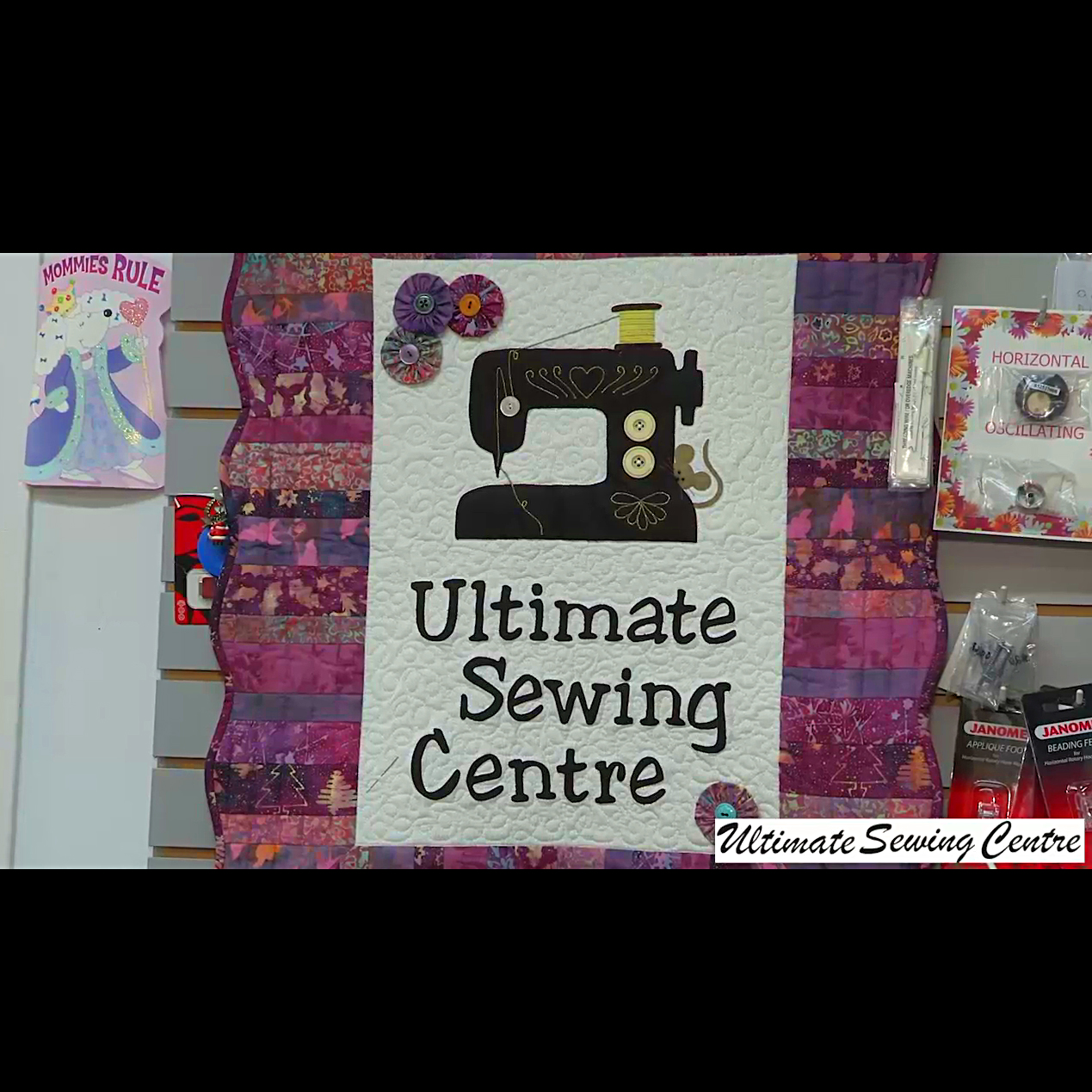 Ultimate Sewing Centre - Fabric Stores - 9054369193