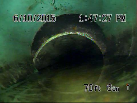 Hello everyone here is a video of a collapsed sewer line that caused this customer lots of service calls and issues