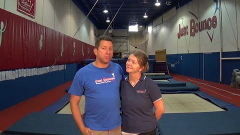 video Just Bounce Trampoline Club Inc