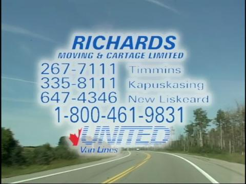 video Richards L Moving & Cartage Limited